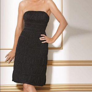 JOVANI GREY EVENING DRESS